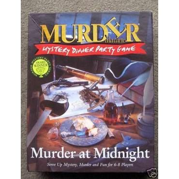 Murder A La Carte Murder at Midnight Board Game LIETOTS