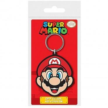 Nintendo - Super Mario (Mario) Rubber Keychain