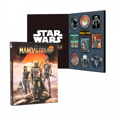 Numskull Star Wars The Mandalorian Collectible Pin Case Set