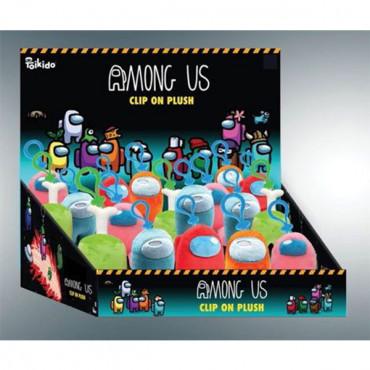P.M.I. Among Us Clip on Plush Toy (Random)