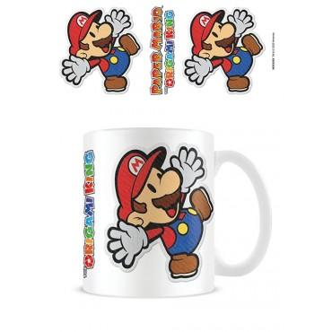 Pyramid Paper Mario - Sticker Coffee Mug