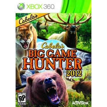 XBOX 360 CABELAS BIG GAME HUNTER 2012 LIETOTA
