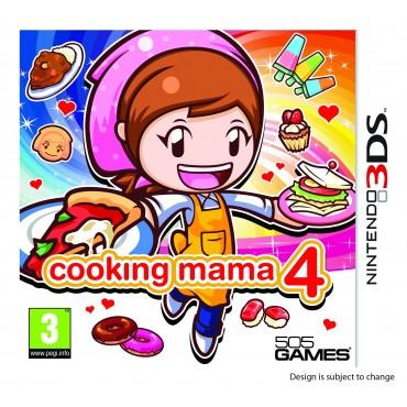 3DS Cooking Mama 4 LIETOTS (bez kastes)
