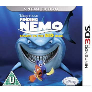 3DS Finding Nemo: Escape to the Big Blue LIETOTS (bez kastes)