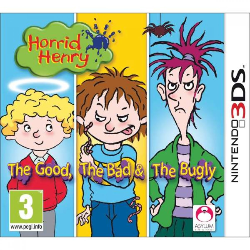 3DS Horrid Henry: The Good, The Bad & The Bugly - LIETOTS