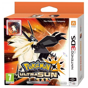 3DS POKEMON ULTRA SUN FAN EDITION