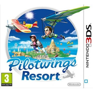 3DS Pilotwings Resort LIETOTS