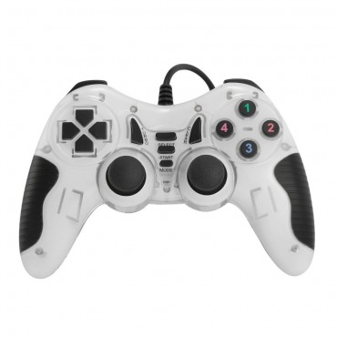 Dolphix USB game controller with wire - WHITE