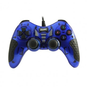 Dolphix USB game controller with wire - BLUE