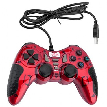 Dolphix USB game controller with wire RED