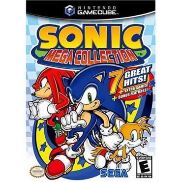 GAMECUBE Sonic Mega Collection - LIETOTS