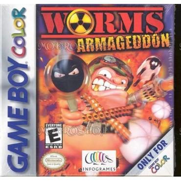 Game Boy Color Worms Armageddon Lietota