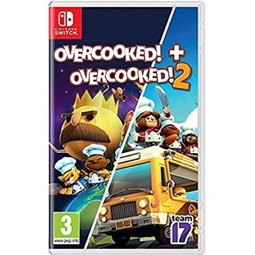 NINTENDO SWITCH Overcooked 1 Special Edition + Overcooked 2 - Double Pack
