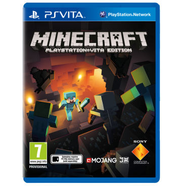 PS VITA Minecraft: PlayStation Vita Edition - LIETOTS