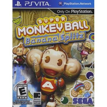 PS VITA Super Monkey Ball Banana Splitz - LIETOTS