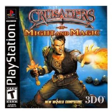 PS1 Crusaders of Might and Magic - LIETOTS