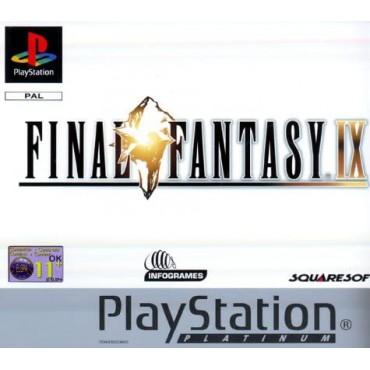 PS1 Final Fantasy IX - LIETOTS