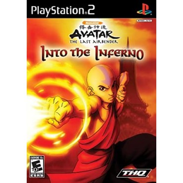 PS2 Avatar: The Legend of Aang - Into the Inferno LIETOTS
