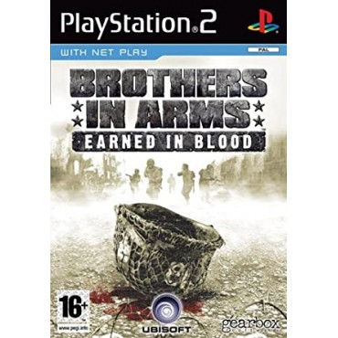 PS2 BROTHERS IN ARMS EARNED IN BLOOD LIETOTA