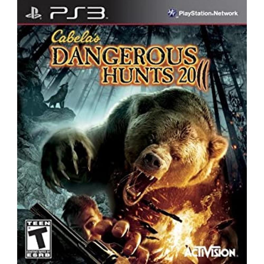 PS3 Cabela's Dangerous Hunts 2011 - LIETOTS