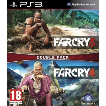 PS3 Far Cry 3 + Far Cry 4 - Double Pack