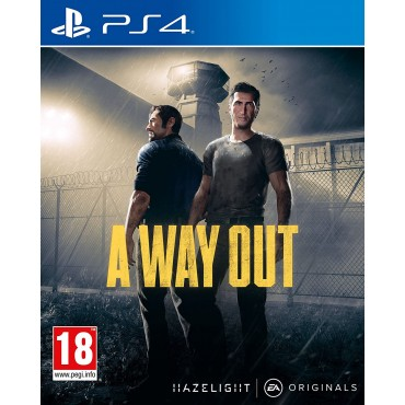 PS4 A Way Out - LIETOTS