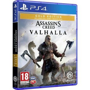 PS4 Assassin's Creed: Valhalla - Gold Edition - PRE-ORDER 10.11.2020