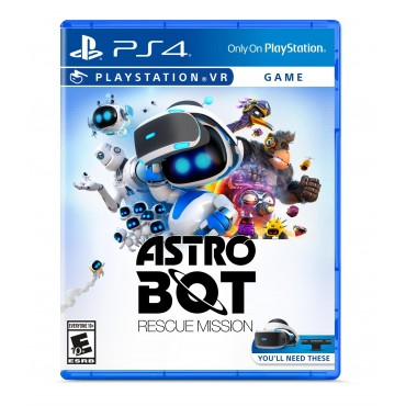 PS4 Astro Bot Rescue Mission (PSVR Required)