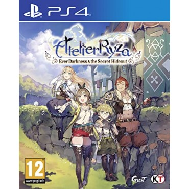 PS4 Atelier Ryza: Ever Darkness and the Secret Hideout