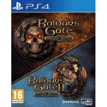 PS4 Baldur's Gate and Baldur's Gate II 2 - Enhanced Editions