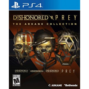 PS4 Dishonored Collection & Prey: The Arkane Collection