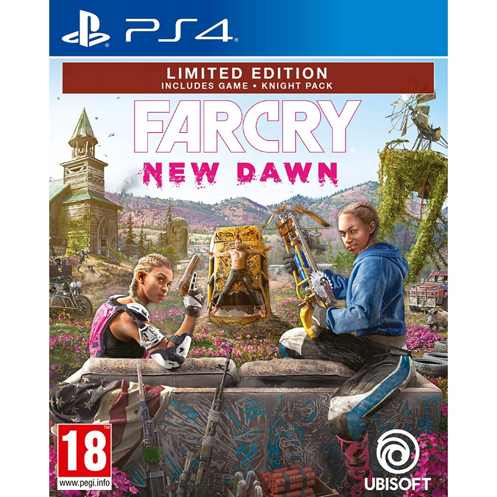 PS4 Far Cry: New Dawn - Limited Edition