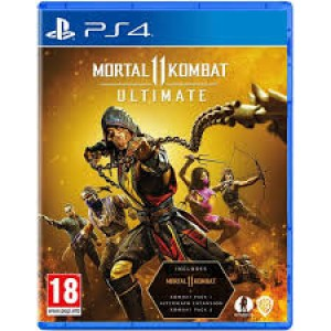 PS4 Mortal Kombat 11: Ultimate Edition (Includes Kombat Pack 1 & 2 + Aftermath Expansion)