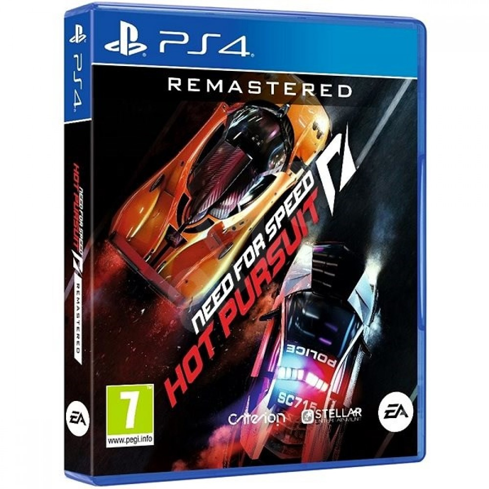 PS4 Need for Speed: Hot Pursuit Remastered