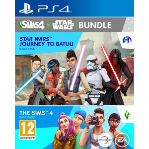 PS4 The Sims 4 & Star Wars Journey to Batuu - Game Pack Bundle