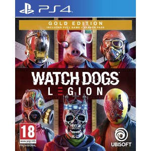 PS4 Watch Dogs: Legion Gold Edition (ENG / RUS)
