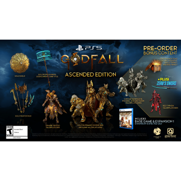 PS5 Godfall - Ascended Edition