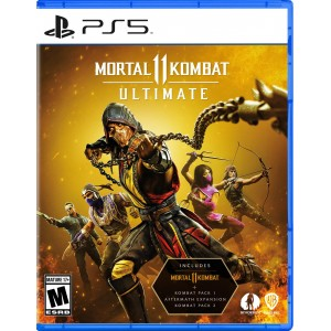 PS5 Mortal Kombat 11 - Ultimate Edition (Includes Kombat Pack 1 & 2 + Aftermath Expansion)