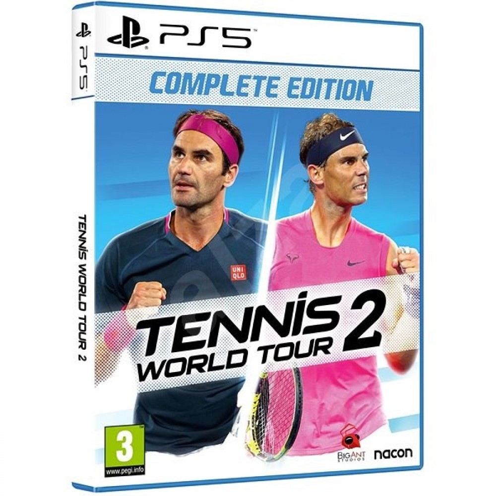 PS5 Tennis World Tour 2 - Complete Edition