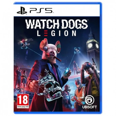 PS5 Watch Dogs Legion Pre-Order 29.10.