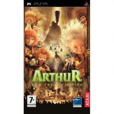 PSP Arthur and the Invisibles LIETOTS