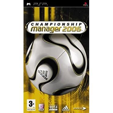 PSP Championship Manager 2006 - LIETOTS