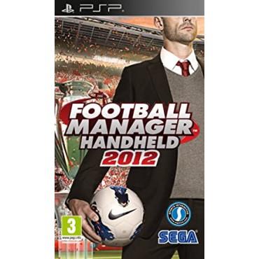 PSP Football Manager Handheld 2012 - LIETOTS