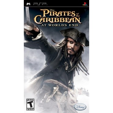 PSP PIRATES OF THE CARRIBEAN AT WORLDS END LIETOTA