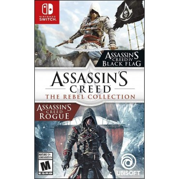 SWITCH Assassin's Creed: The Rebel Collection (Black Flag + Rogue)