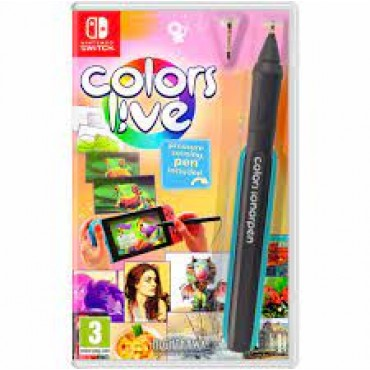 SWITCH Colors Live (Pressure Sensing Pen Included)