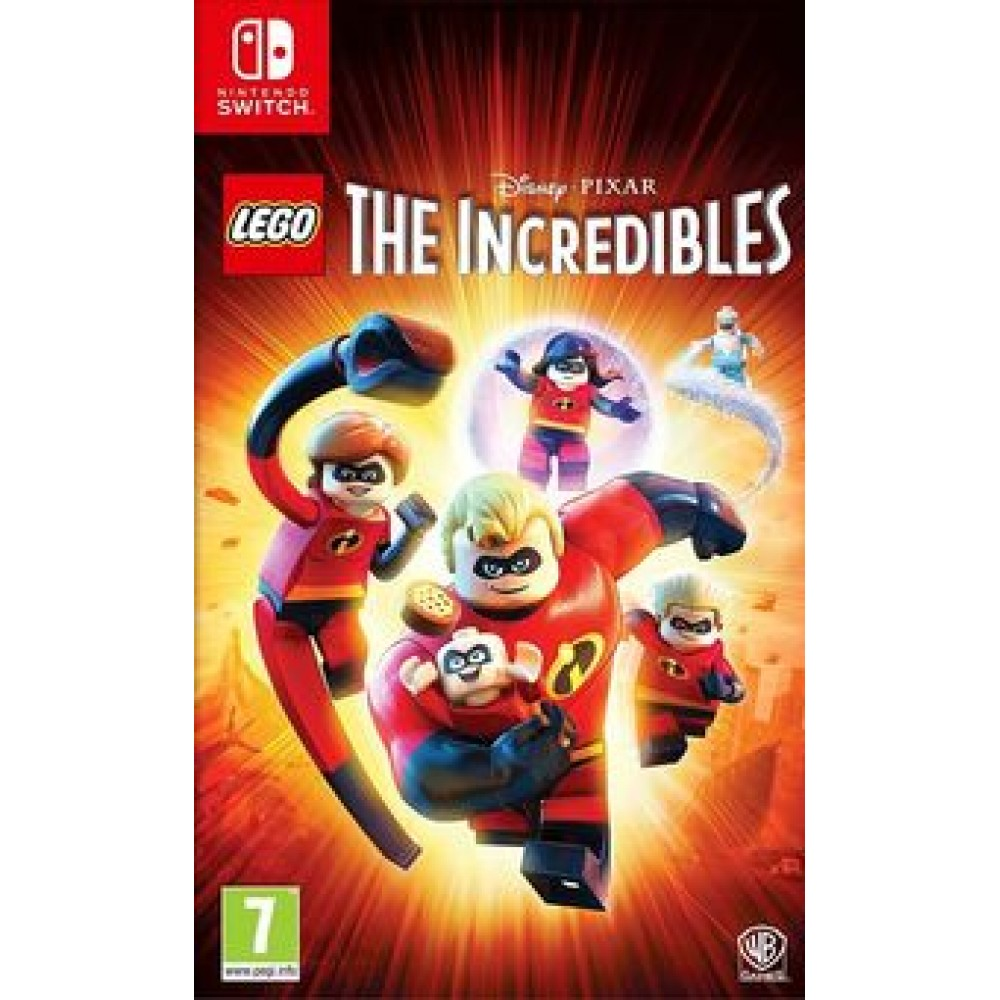 SWITCH LEGO THE INCREDIBLES - LIETOTS