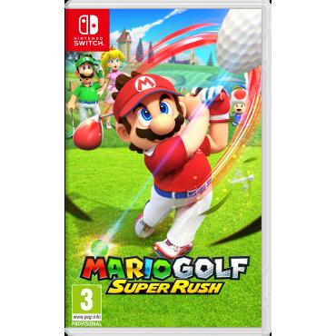 SWITCH Mario Golf: Super Rush - PRE-ORDER 25.06.2021