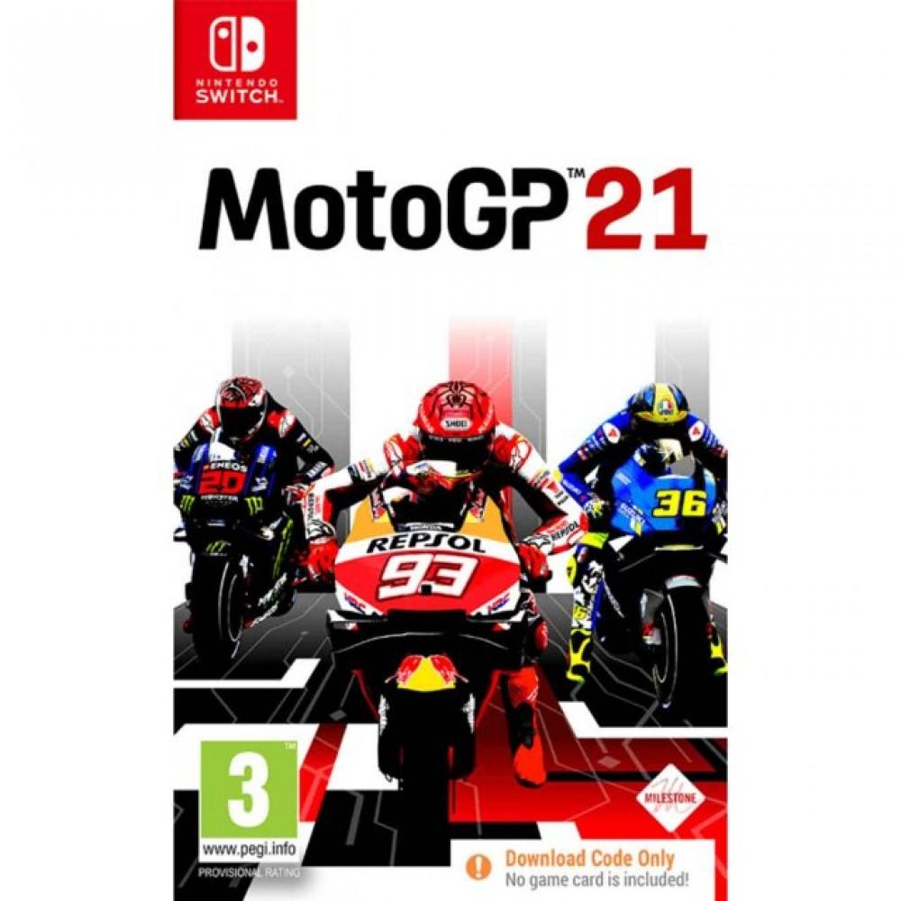 SWITCH MotoGP 21 (Code in a Box)