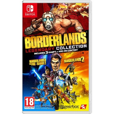 SWITCH Borderlands 1: Game of the Year Edition - LIETOTS